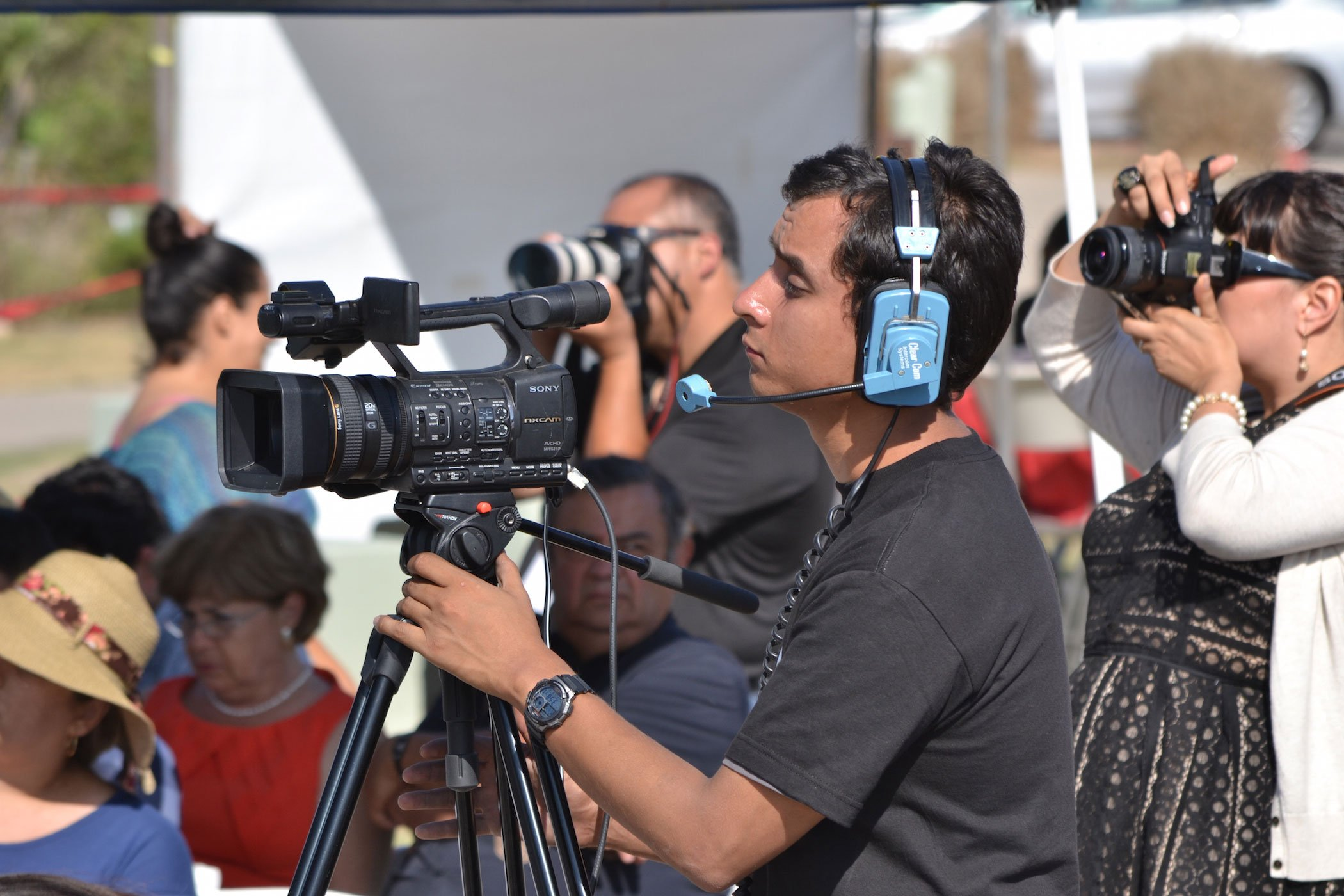 Cameras Ready at TEDxMonumento258