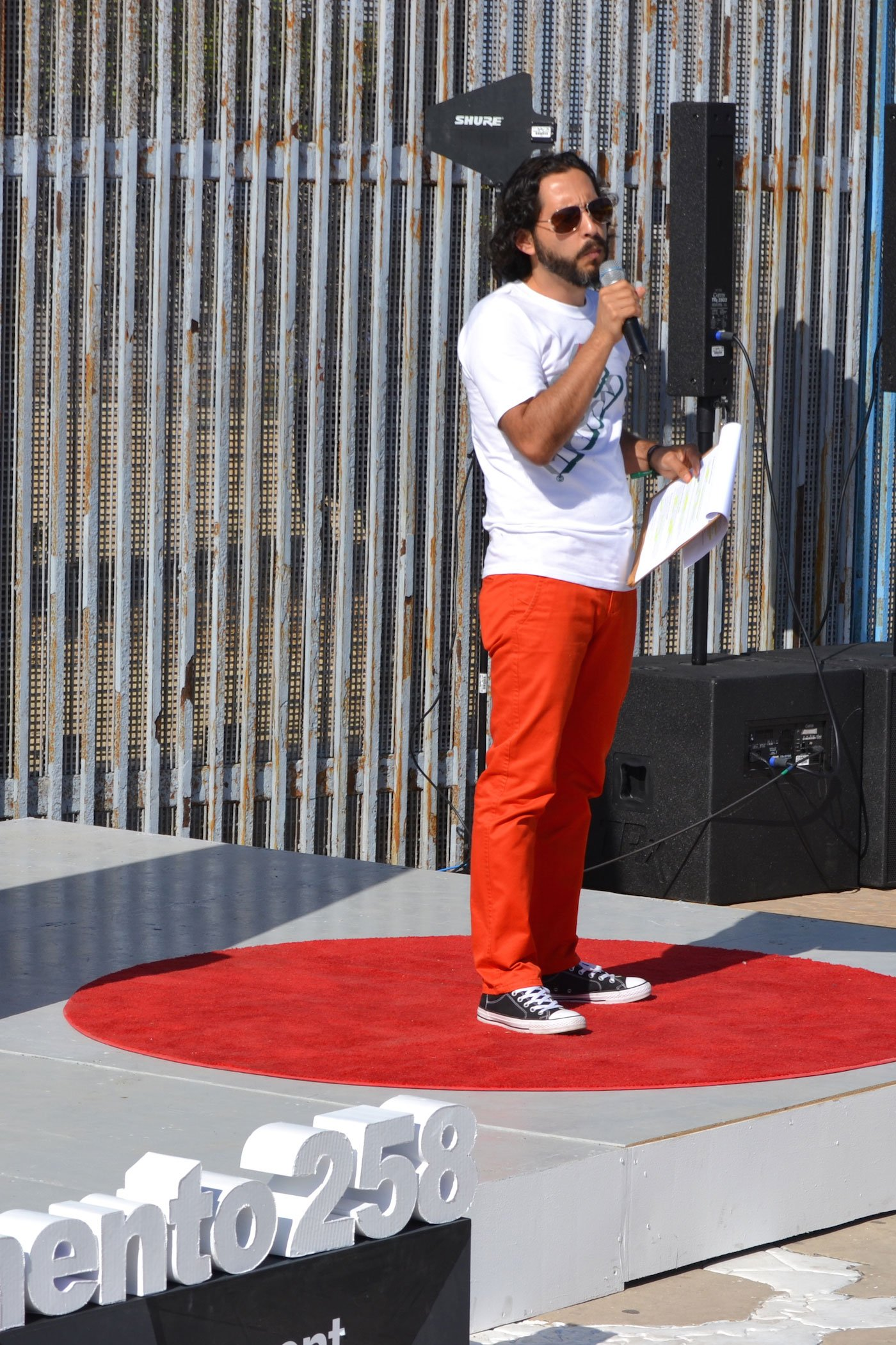 Jorge Francisco Sánchez at TEDxMonumento258