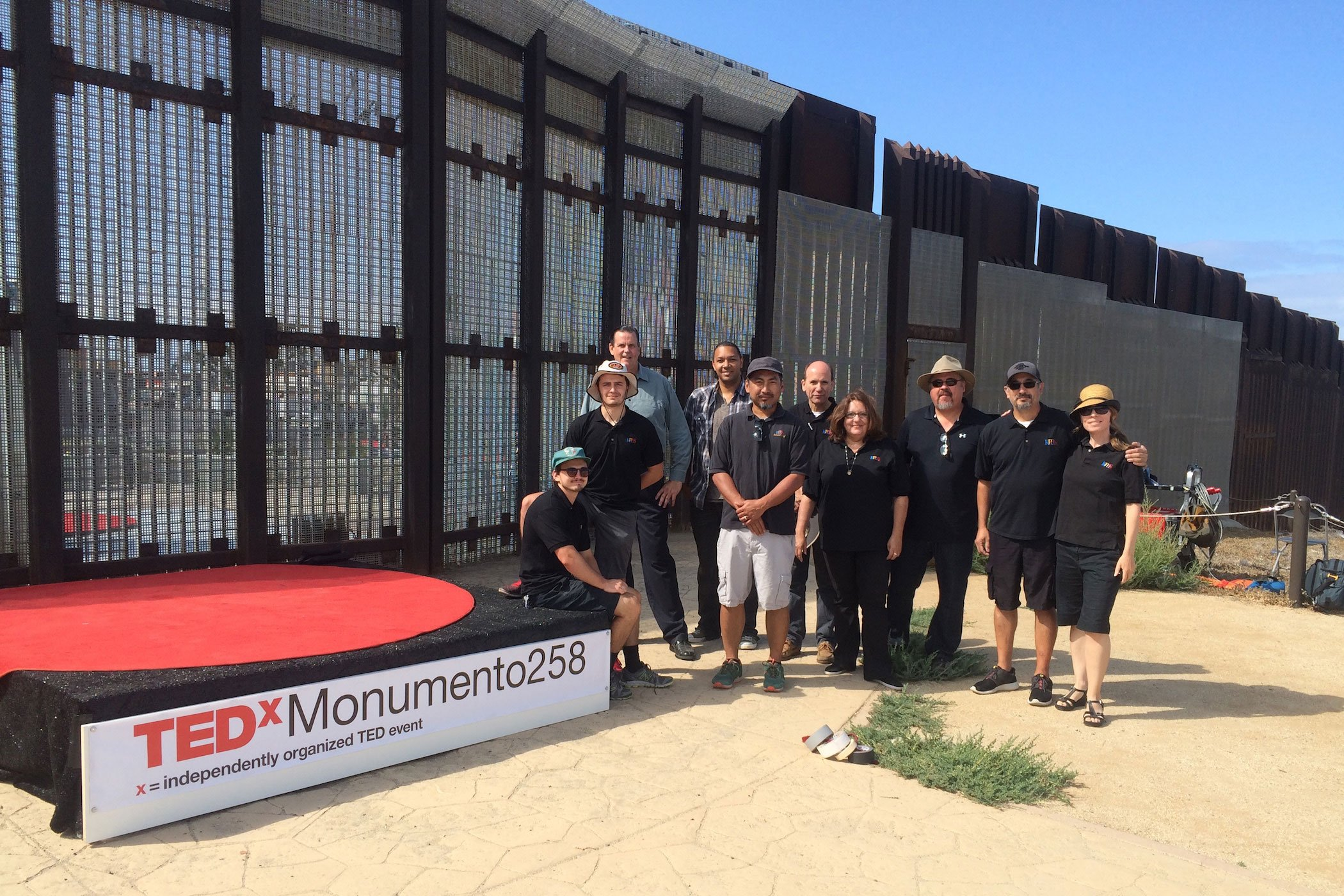 KPBS Show Team at TEDxMonumento258