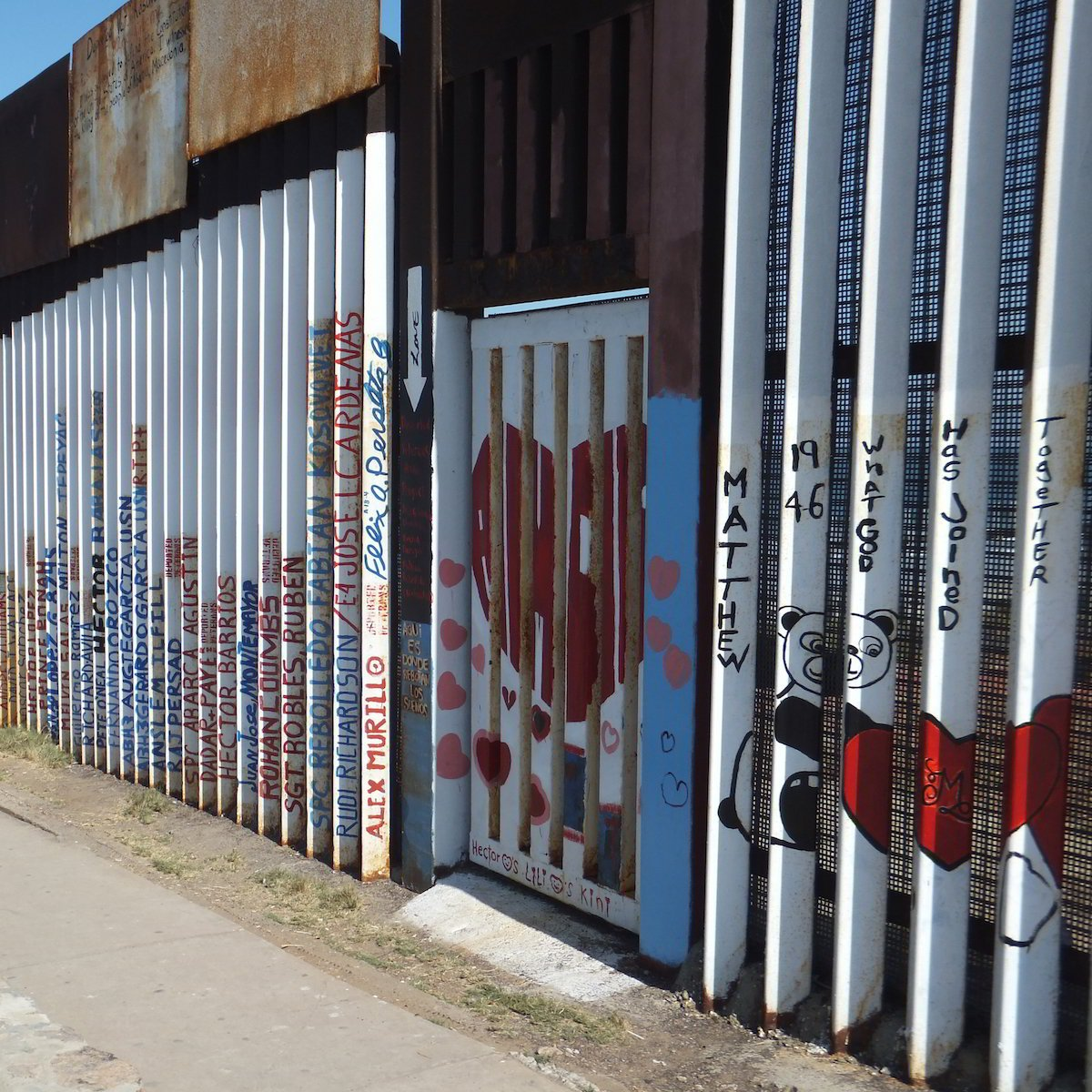 Playas de Tijuana - Gated Heart - Border Fence